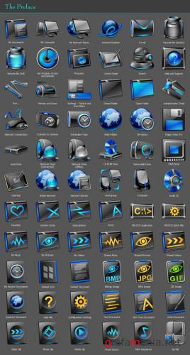Preface icons for Windows