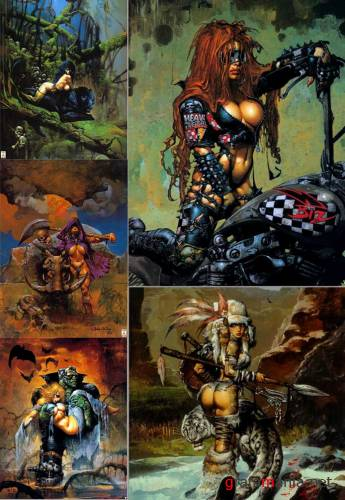 Art by Simon Bisley