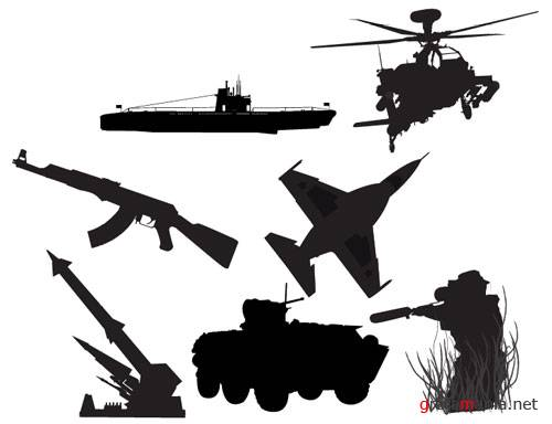 Military vector pack