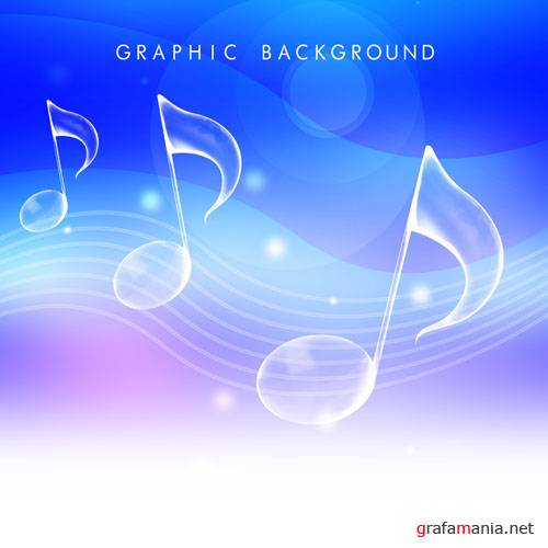 Music Graphic background