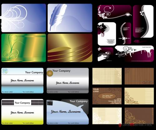 Vector Business Card 10