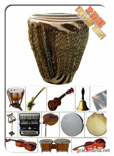 HQ Images - Musical instruments