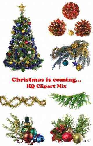 "HQ Clipart Mix: ""Christmas is coming..."""