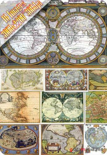 HQ Images - Antique Maps