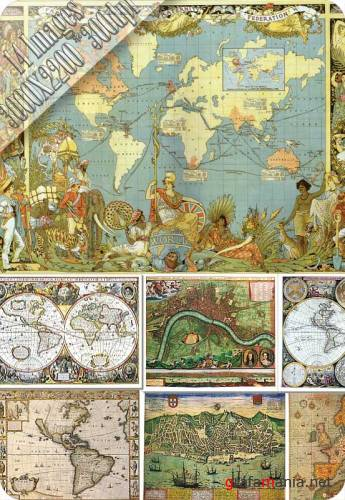 HQ Images - Antique Maps 3