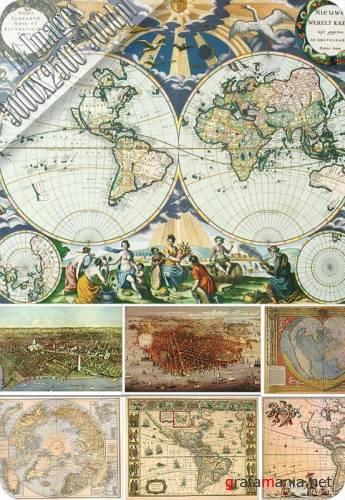 HQ Images - Antique Maps - 4