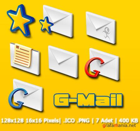 G-Mail Icon Pack
