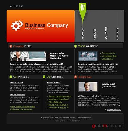 TM 9327 Business Template