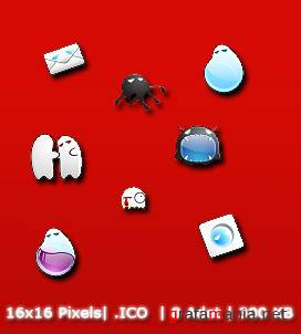 Ghost System Icons