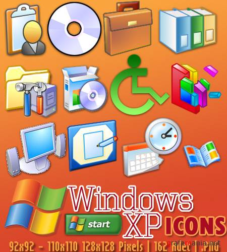 Microsoft XP PNG Icons