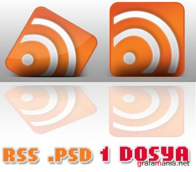 RSS Icon Progress PSD