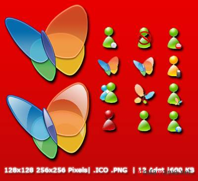 MSN Messenger Icons