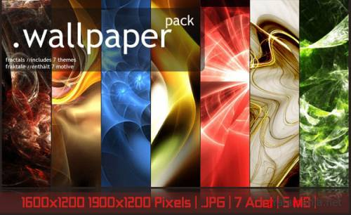 Exclusive Wallpaper Fractal Pack