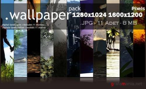 Exclusive Wallpaper Digital Landscape Pack