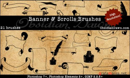 Banners & Scrolls