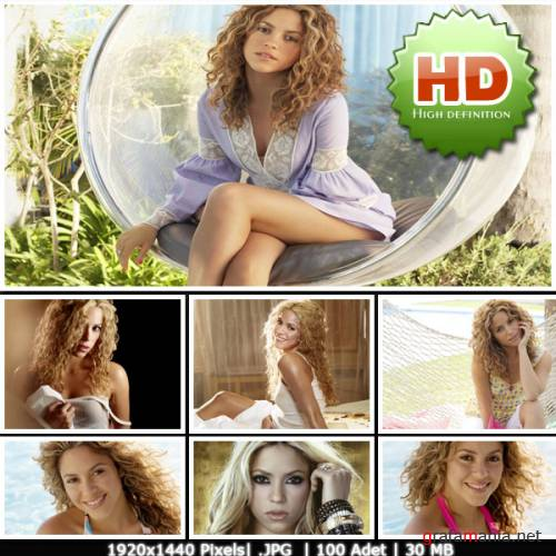 Shakira HD Wallpapers Pack