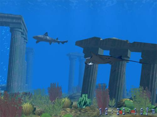 3D Atlantis Screen Saver