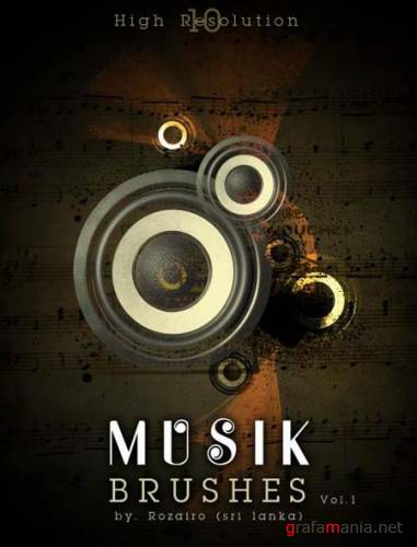 Musik Photoshop Brush by Rozairo