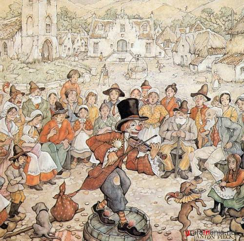 Works by Anton Pieck