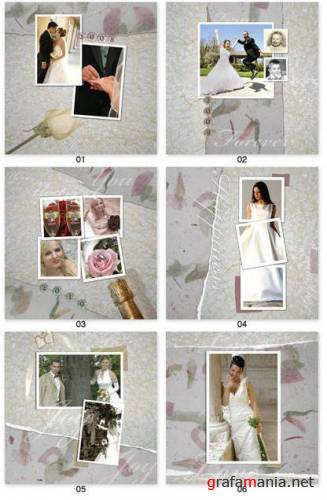 ������� ��� ���������� ������� Graphic Authority Wedding Templates v1 - Disk1