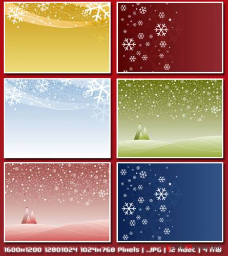 Wallpaper Snowflakes