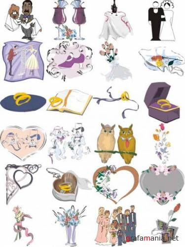 Wedding Vector Clipart