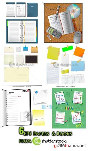Papers & Books from Shutterstock