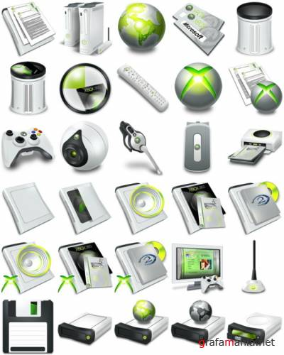 Icons - XBOX 360 Pack
