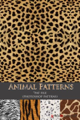 Заливки для Photoshop - Animal Patterns