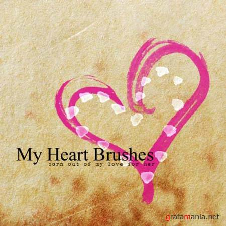 My Heart Brushes by ~mcbadshoes