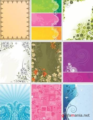 Vector Backgrounds Pack