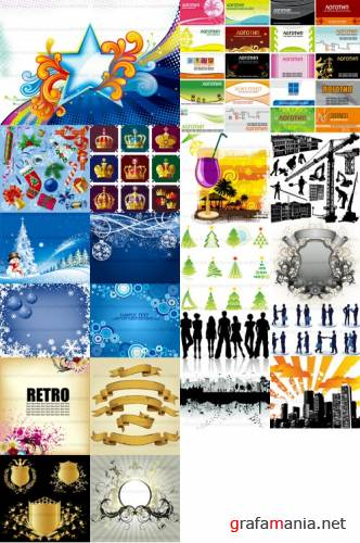 2009 shutterstock vectors mix16
