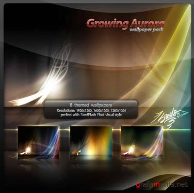 Growing Aurora Wallpaper Pack