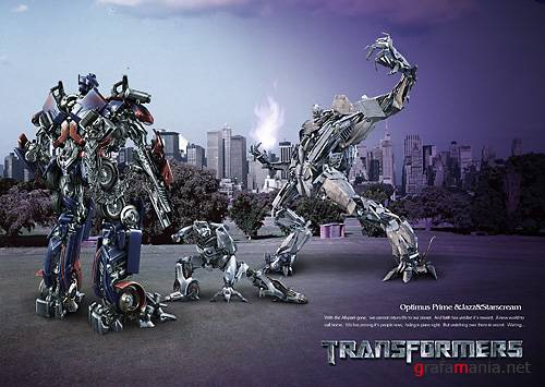 Transformers PSD template