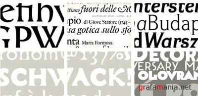 Storm Type Foundry Fonts Collection