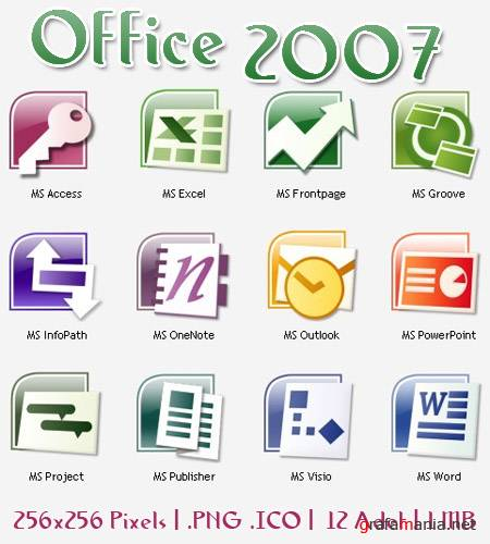 Office 2007 Icon-Pack