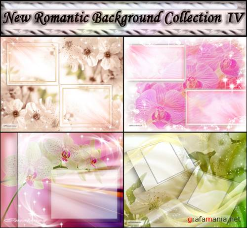 New Romantic Background Collection IV (PSD)