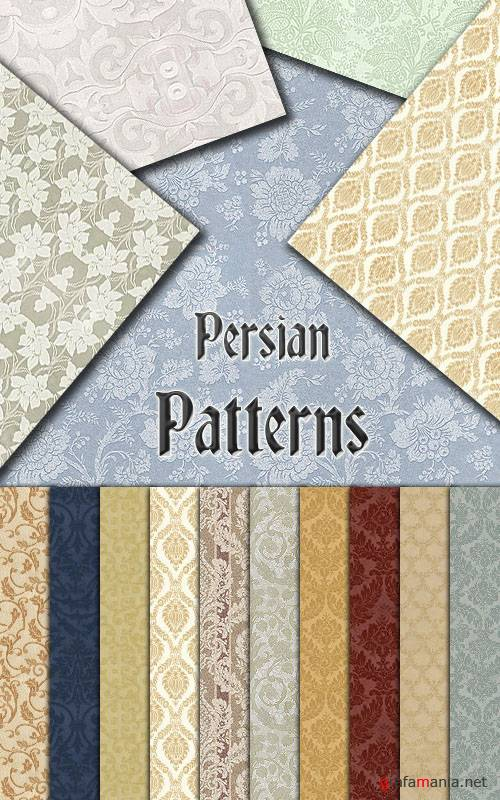 Заливки для Photoshop - Persian Patterns