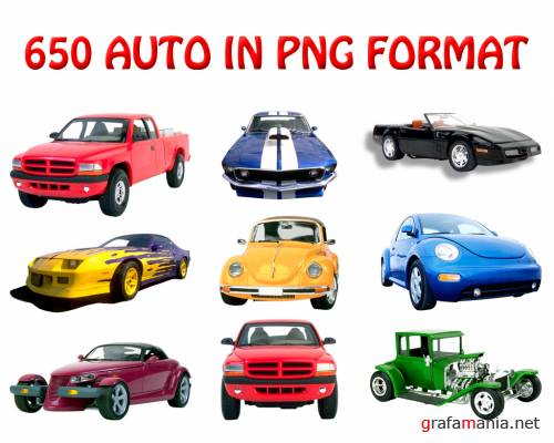 650 AUTO IN PNG FORMAT !!!