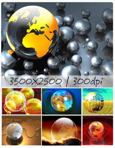 Globes Background