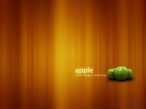 Обои - Green Apple
