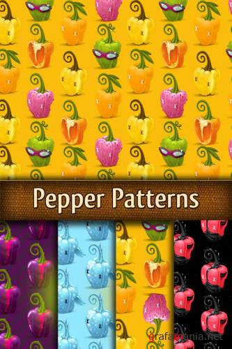 Заливки для Photoshop - Pepper Patterns