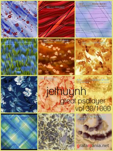 jethuynh - Great Psdlayer collection vol 30/1000