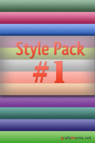 Стили для Photoshop - Style Pack #1