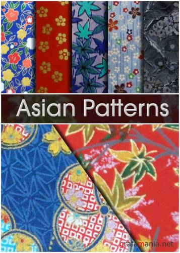 Заливки для Photoshop - Asian Patterns