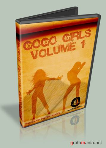 Формы для Photoshop - Go Go Girls