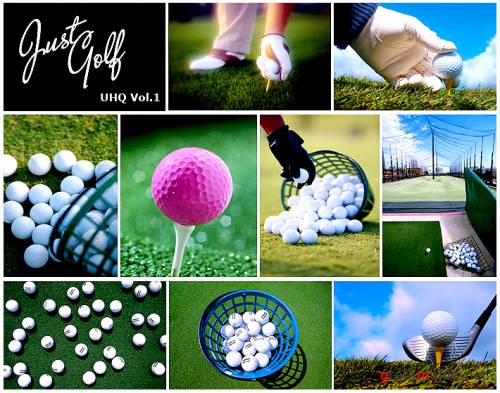 """JUST GOLF""  Hi-Res Stock Photos (Vol 1)"