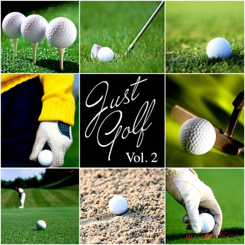 JUST GOLF ~ Hi-Res Stock Photography (Vol 2)