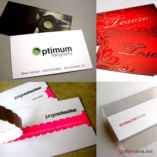 Cool and creaive business cards