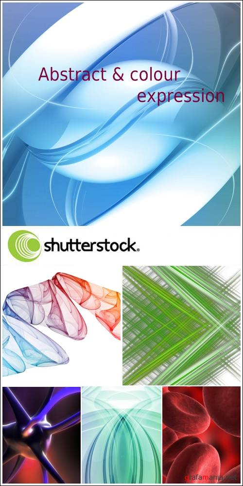 Abstract & Colour Expression: HQ клипарт от Shutterstock
